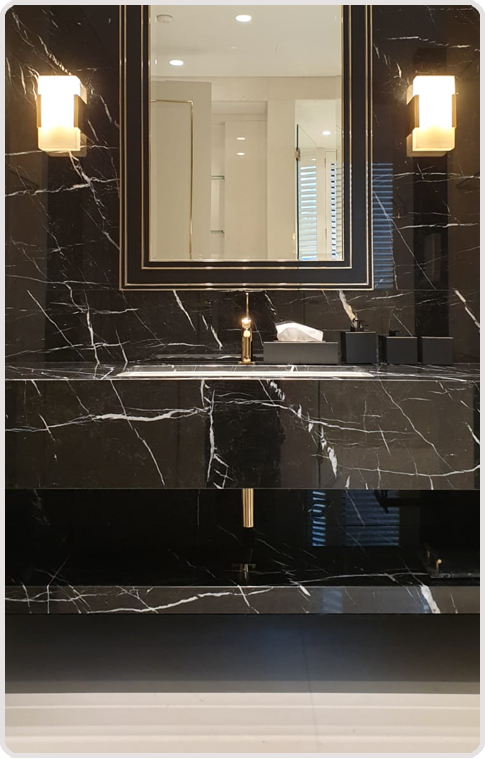 Stone countertops can fulfill dual functions