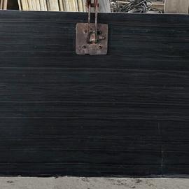 Black Serpeggiante Marble Slab